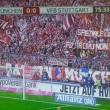 Borussia, Bayern ed Hertha Berlino striscione Speziale libero01