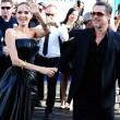 Brad Pitt aggredito alla prima di Malefiecent0