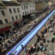 Bristol, scivolo gigante d'acqua in strada02