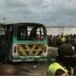 Colombia, scuolabus in fiamme03