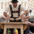 Germania, il wrestling con le dita praticato sulle Alpi05