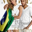 Gisele Bundchen e Neymar su Vogue Brasil di giugno01