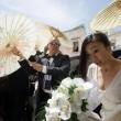 Hikaru Utada e Francesco Calianno: nozze a Polignano tra il barman e la cantante05