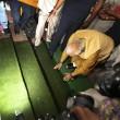 India, Modi si inginocchia e bacia la terra01