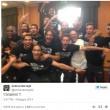 Juventus, la festa della squadra. Selfie scudetto e video03