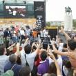 Maradona alle gare di motonautica Xcat01