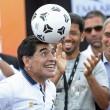 Maradona alle gare di motonautica Xcat10