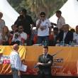 Maradona alle gare di motonautica Xcat04