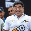 Maradona alle gare di motonautica Xcat09
