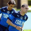 foto del primo allenamento degli Azzurri a Coverciano12