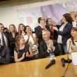 Renzi commosso Avanti senza paura per cambiare. Festa Pd 14