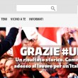 Renzi commosso Avanti senza paura per cambiare. Festa Pd 04