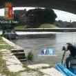 Roma, barcone di turisti alla deriva sul Tevere01