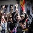 Roma, dipendenti del Comune. Protesta al Campidoglio contro tagli in busta paga01