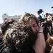 Roma, dipendenti del Comune. Protesta al Campidoglio contro tagli in busta paga10