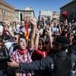 Roma, dipendenti del Comune. Protesta al Campidoglio contro tagli in busta paga07