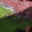 Spagna, crolla barriera dello stadio di Pamplona 25 tifosi feriti03