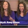 Amy e Becky Glass, gemelle dividono tutto: cibo, Fb, fidanzato