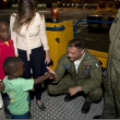 Bambini adottati in Congo arrivano in Italia06