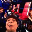 J-Ax, selfie a The Voice Of Italy (foto)