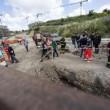 Roma: crolla cantiere in zona Aurelia, operaio morto sepolto dalle macerie (foto)