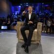 Matteo Renzi ospite della trasmissione tv Ballarò con Floris