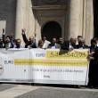 Beppe Grillo a Montecitorio per il Restitution Day 8