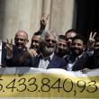 Beppe Grillo a Montecitorio per il Restitution Day 4