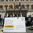 Beppe Grillo a Montecitorio per il Restitution Day 9
