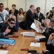 Diego Armando Maradona in tribunale a Napoli02