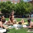New York, lettrici in topless a Central Park: la legge lo permette 3