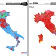 Europee 2014, confronto con politiche 2013 e Europee 2009: tabelle Istituto Cattaneo
