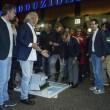 Beppe Grillo da Bruno Vespa con il plastico (foto)