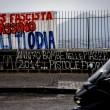 """Ciro Esposito morto, a Napoli striscione """"De Santis fascista assassino"""""""