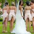 Bridesmaids mooning, su la gonna le damigelle mostrano il lato B al matrimonio03