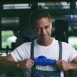 Rocco Siffredi elettricista per il nuovo video di Fred De Palma