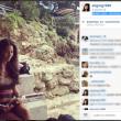 Elisabetta Gregoraci in topless a Montecarlo le foto su Instagram 04