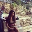 Elisabetta Gregoraci in topless a Montecarlo le foto su Instagram 01