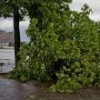 Maltempo Napoli, bomba d'acqua e vento forte in città08