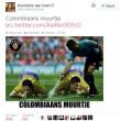 Mondiali 2014, giocatori Colombia sniffano spray arbitri01