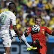 Belgio-Algeria 2-1, le FOTO: la partita, lo stadio, i tifosi