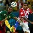 Camerun-Croazia 0-1 DIRETTA: Olic gol. Espulso Song