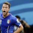 Marchisio esulta dopo il gol all'Inghilterra