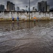 Nubifragi da Roma a Napoli: bombe d'acqua causano allagamenti e danni (foto) 11