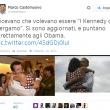 Cristina Parodi, la first lady di Bergamo indossa lo stesso abitino di Michelle Obama02