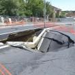 Nubifragi da Roma a Napoli: bombe d'acqua causano allagamenti e danni (foto) 15