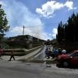 Roma, via di Vigna Murata: deposito edile in fiamme13