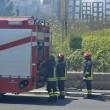 Roma, via di Vigna Murata: deposito edile in fiamme27