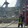 Roma, via di Vigna Murata: deposito edile in fiamme31