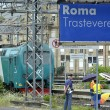 Roma, stazione Trastevere: uomo muore travolto dal treno02